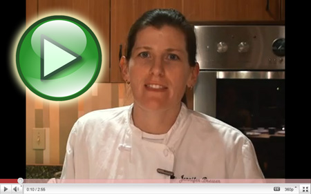 Click for video- Chef Jenny explains all!
